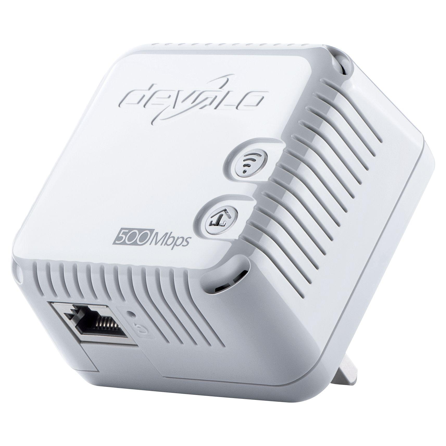 Devolo Devolo dLAN 500 Wi-Fi Powerline Single Adapter