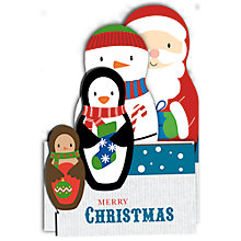 Buy Special Editions Russian Doll Charity Christmas Card, Pack of 8 Online at johnlewis.com