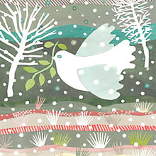 Buy Art File Pastel Dove Charity Christmas Card, Box of 6 Online at johnlewis.com