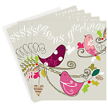 Buy Caroline Gardner Musical Birds Charity Christmas Cards, Box of 5 Online at johnlewis.com