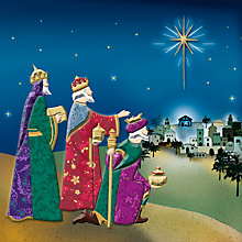 Buy Special Editions Foiled Three Kings Charity Christmas Cards, Box of 8 Online at johnlewis.com