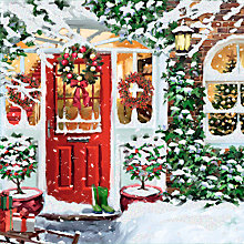 Buy Special Editions Red Door Charity Christmas Cards, Box of 8 Online at johnlewis.com