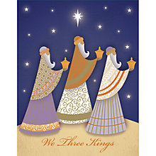 Buy Special Editions We Three Kings Charity Christmas Cards, Pack of 5 Online at johnlewis.com