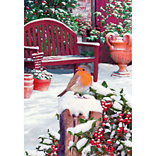 Buy Special Editions Robin and Wheelbarrow Charity Christmas Cards, Box of 8 Online at johnlewis.com