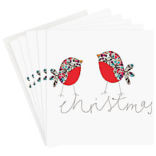 Buy Caroline Gardner Robins Charity Christmas Cards, Box of 5 Online at johnlewis.com