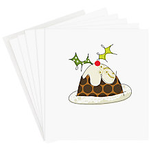 Buy Caroline Gardner Pudding Charity Christmas Cards, Box of 5 Online at johnlewis.com