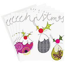 Buy Caroline Gardner Puddings Charity Christmas Cards, Box of 5 Online at johnlewis.com