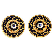 Buy Alice Joseph Vintage Liberty Gilt Plated Clip-On Earrings, Gold Online at johnlewis.com