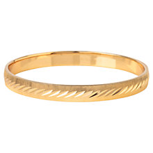 Buy Susan Caplan Vintage 1970s Monet Gold Plated Bangle, Gold Online at johnlewis.com