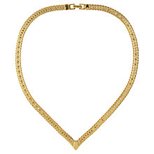 Buy Susan Caplan Vintage 1980s Napier Gold Plated Necklace, Gold Online at johnlewis.com