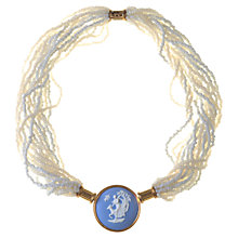 Buy Alice Joseph Vintage 1988 Wedgewood Jasper Ware Cameo Necklace Online at johnlewis.com