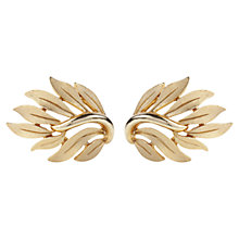 Buy Susan Caplan Vintage 1960s Trifari Gold Plated Cufflinks, Gold Online at johnlewis.com