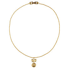 Buy Susan Caplan Vintage 1980s Givenchy Gold Plated Pendant Necklace, Gold Online at johnlewis.com