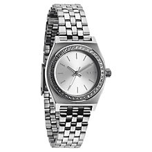 Buy Nixon A399 Women's The Small Time Teller Crystal Watch Online at johnlewis.com