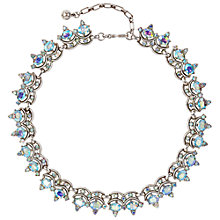Buy Susan Caplan Vintage 1950s Trifari Aurora Borealis Necklace, Silver Online at johnlewis.com