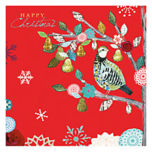 Buy Hammond Gower Partridge in a Pear Tree Charity Christmas Cards, Pack of 5 Online at johnlewis.com