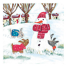Buy Museums & Galleries Village Visitor Charity Christmas Cards, Box of 8 Online at johnlewis.com
