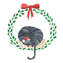 Buy Museums & Galleries Christmas Kitty Charity Cards, Pack of 8 Online at johnlewis.com