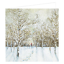 Buy Art Marketing Winter Walk Charity Christmas Cards, Box of 6 Online at johnlewis.com