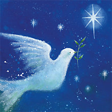 Buy Museums & Galleries Dove of Peace Charity Christmas Cards, Pack of 8 Online at johnlewis.com