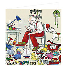 Buy Art Marketing Santa's Workshop Charity Christmas Cards, Box of 6 Online at johnlewis.com