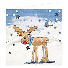 Buy Art Marketing Rudolph Charity Christmas Cards, Pack of 6 Online at johnlewis.com