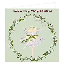 Buy Art Marketing Fairy Merry Charity Christmas Cards, Pack of 6 Online at johnlewis.com