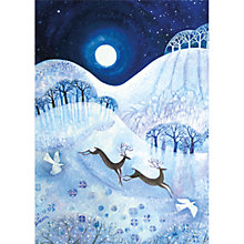 Buy Museums & Galleries Stags in the Snow Charity Christmas Cards, Box of 8 Online at johnlewis.com