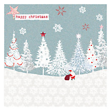 Buy Hammond Gower Santa in Forest Charity Christmas Cards, Pack of 5 Online at johnlewis.com