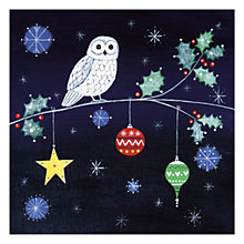 Buy Museums & Galleries Night Owl Charity Christmas Cards, Pack of 5 Online at johnlewis.com