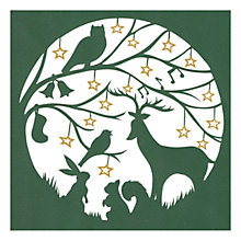 Buy Museums & Galleries Woodland Charity Christmas Cards, Pack of 8 Online at johnlewis.com