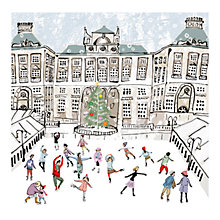 Buy Museums & Galleries Skating at Somerset House Charity Christmas Cards, Box of 8 Online at johnlewis.com