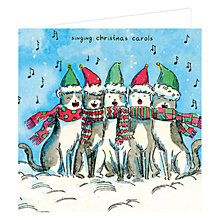 Buy John Lewis Carols Charity Christmas Cards, Pack of 6 Online at johnlewis.com