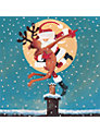 Almanac By the Light of the Moon Charity Christmas Cards, Pack of 8
