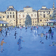 Buy Museums & Galleries Christmas Skaters Charity Cards, Pack of 5 Online at johnlewis.com