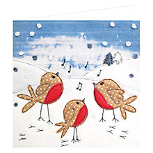 Buy Art Marketing Carol Singers Charity Christmas Cards, Pack of 6 Online at johnlewis.com