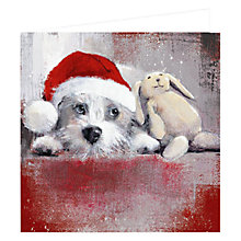 Buy Art Marketing Waiting for Santa Charity Christmas Cards, Pack of 6 Online at johnlewis.com