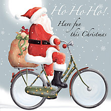 Buy Paper House Ho Ho Ho Charity Christmas Cards, Pack of 6 Online at johnlewis.com