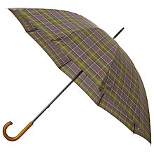 Buy Barbour Tartan Golf Umbrella Online at johnlewis.com