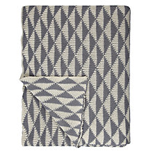 Buy John Lewis Mini Diamond Throw Online at johnlewis.com