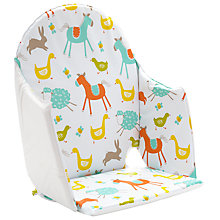 Buy John Lewis Farmyard Highchair Insert Online at johnlewis.com