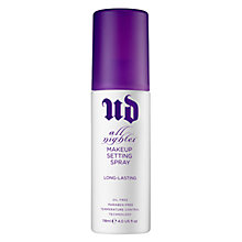 Buy Urban Decay All Nighter Makeup Setting Spray, 118ml Online at johnlewis.com