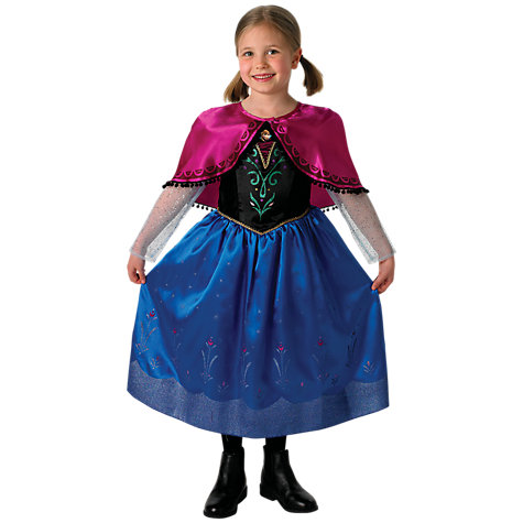 Buy Disney Frozen Anna Deluxe Dressing-Up Costume Online at johnlewis.com