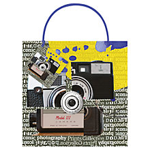 Buy Ella Doran Cameras Gift Bag, Large Online at johnlewis.com