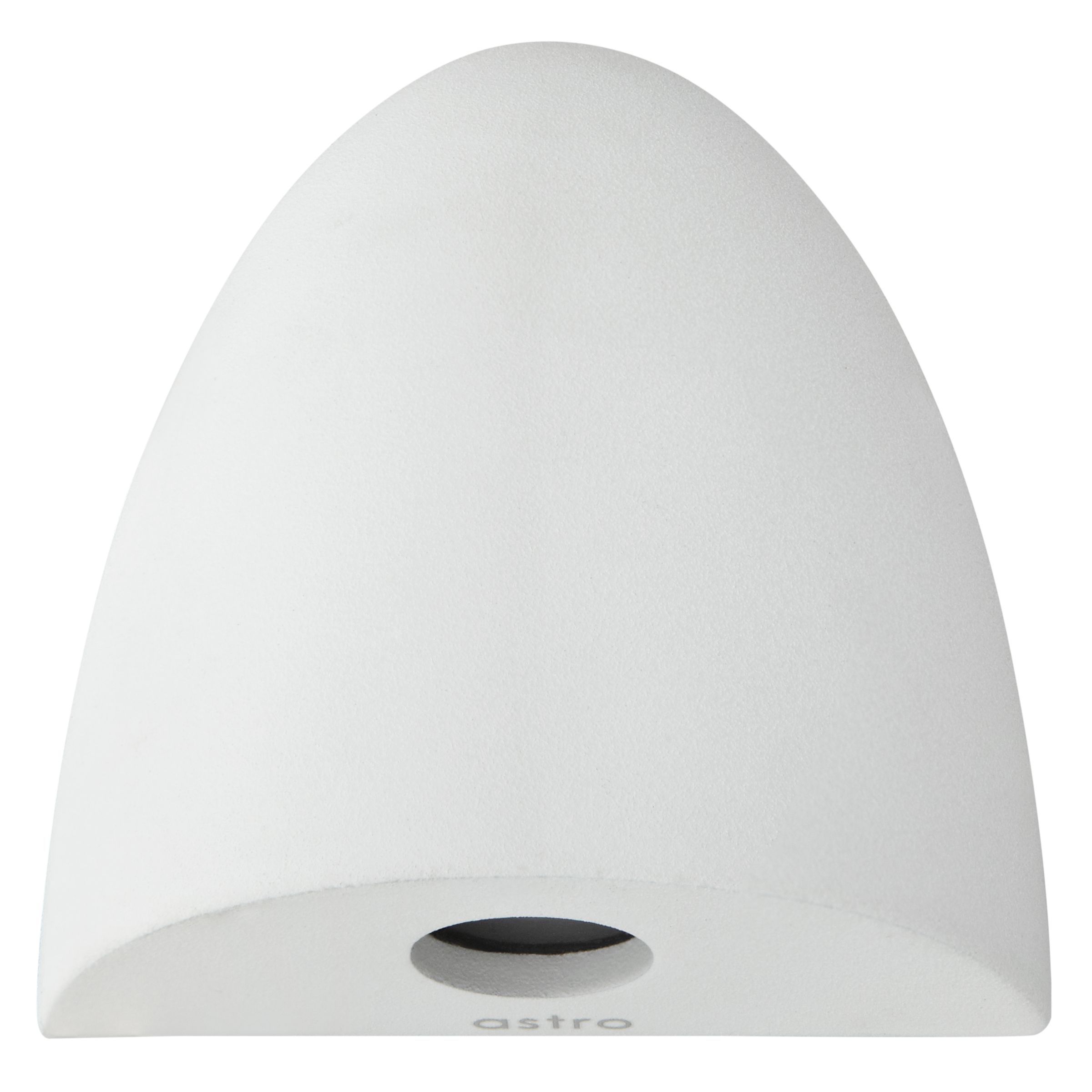 Buy ASTRO Orpheus LED Curved Wall Light, White John Lewis