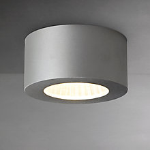 Buy Astro Samos Round LED Ceiling Light, Aluminium Online at johnlewis.com