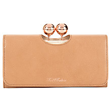 Buy Ted Baker Elmira Bobble Leather Matinee Purse Online at johnlewis.com