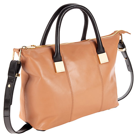 Buy Ted Baker Felmar Small Leather Tote Bag Online at johnlewis.com
