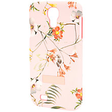 Buy Ted Baker Botanical Bloom Print Samsung Galaxy S4 Case, Pale Pink Online at johnlewis.com