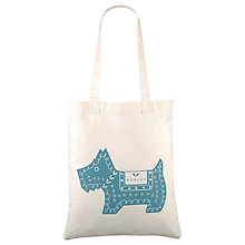 Buy Radley Dala Dog Tote Bag, Blue Online at johnlewis.com